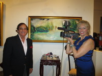 Amsterdam Whitney Gallery Interview on Manhatten Cable Channel
