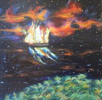 AFLAME OFF THE SHOALS OF ORION